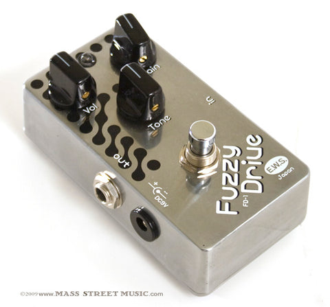 E.W.S. Effect Pedals - Fuzzy Drive