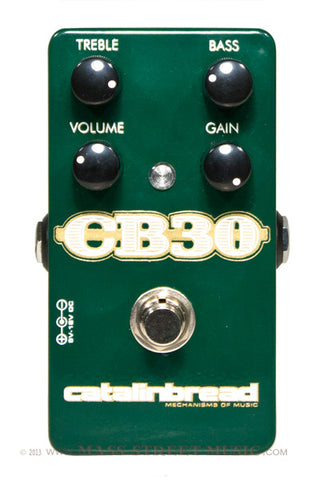 Catalinbread CB30 - top