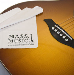 Mass Street Music Gear - Microfiber Polishing Cloth