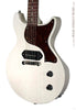 Collings 290 DCS electric guitar white, angle view