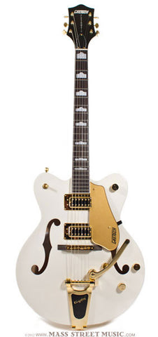 Gretsch Electric Guitars - G5422 Electromatic - Snow Crest White