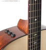 Taylor 510e acoustic guitar - onboard controls