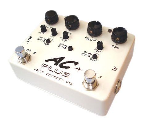 Xotic AC Plus Guitar Pedal - angle