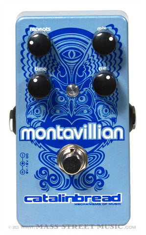 Catalinbread Montavillian Echo - top