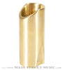 Rockslide Large Polished Brass Guitar Slide tall view
