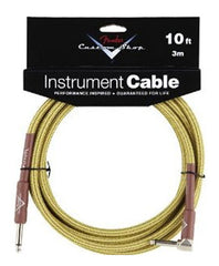 Fender 10' Right Angle Tweed Instrument Cable