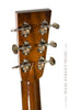 Collings OM2H Custom - back of headstock