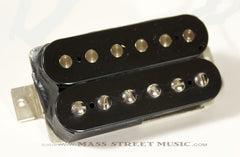 Lindy Fralin Guitar Pickups -  Humbucker 9K, Braided - Double Black