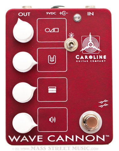 Caroline Effect Pedals - Wave Cannon Overdrive MKII