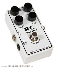 Xotic Effect Pedals - RC Booster