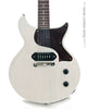 Collings 290 DCS electric guitar white, front close up view