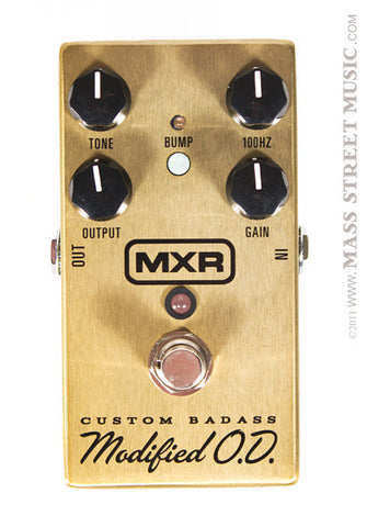 MXR Effect Pedals - Custom Badass Modified O.D.