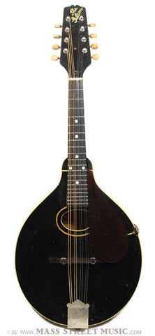 Gibson 1924 A1 Snakehead Mandolin - full front