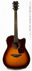 Yamaha FGX720 SCA Acoustic guitar burst finish - front