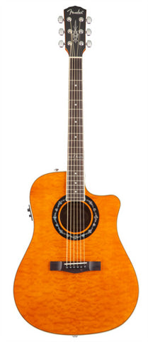 Fender T Bucket 300 CE Trans Amber front
