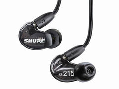 Shure Earphones - SE215 - Black