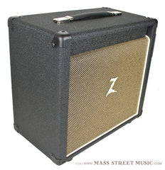 "Dr. Z Amps - 1x10"" Cabinet - Black/Tan"
