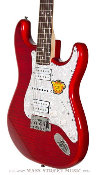 squier strat deluxe hsh mass street music store. Black Bedroom Furniture Sets. Home Design Ideas