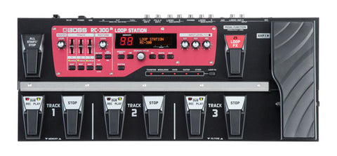 BOSS RC-300 - top
