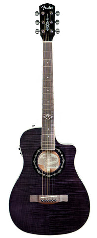 Fender Acoustic Guitars - T-Bucket 300CE - Trans Black