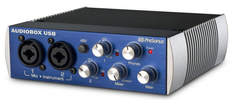 Presonus Audiobox USB Interface - angle