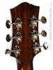 Collings CJ Mha SS SB Custom acoustic guitar back of headstock