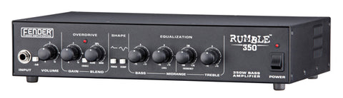 Fender Rumble 350 Bass Amp Head - angle