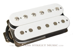 Lindy Fralin Guitar Pickups -  Humbucker 9K, F-Spaced, 4 Conductor - White
