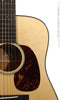 Collings acoustic D1AVN Custom front detail with tortoise style pickguard