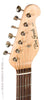 Grosh ElectraJet with P90s black finish - front headstock