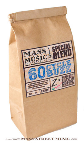 Mass Street Music 60 Cycle Buzz Coffee, 1 lb