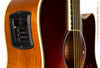 Yamaha FGX720 SCA Acoustic guitar burst finish - electronics and tuner