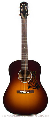 Collings CJ35 acoustic guitar Burst finish front
