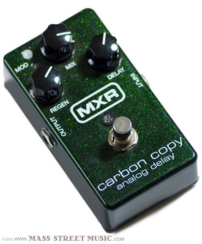 MXR Carbon Copy Delay Pedal, angle view