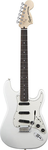 Squier - Deluxe Hot Rails Stratocaster - Olympic White