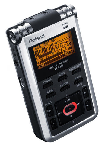 Roland Digital Recorders - R-05 WAV/MP3 Digital Recorder