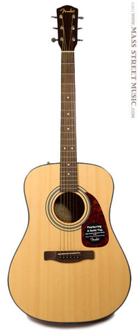 Fender CD-140S Acoustic Guitar - full front