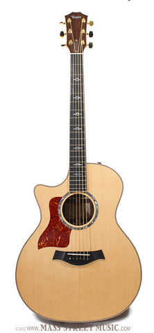 Taylor 814ce Lefty Acoustic Guitar - front