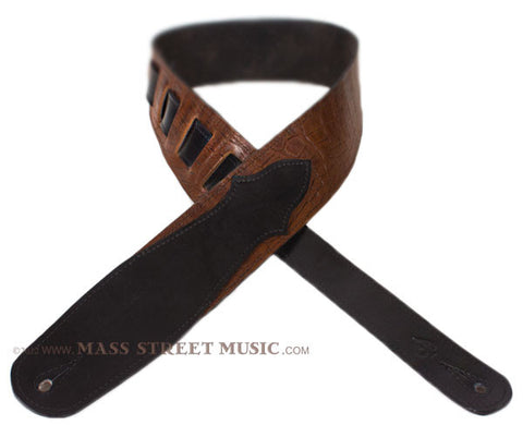 Leather Aces - Gator Guitar Strap
