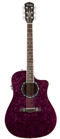 Fender Acoustic Guitars - T-Bucket 300CE - Trans Violet