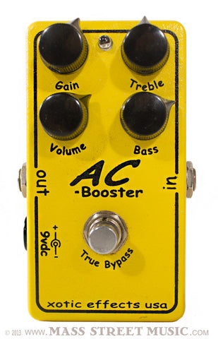Xotic Effect Pedals - USED AC Booster