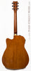 Yamaha FGX720 SCA Acoustic guitar burst finish - back