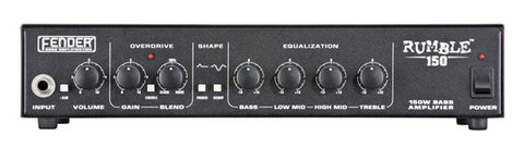 Fender Rumble 150 Bass Amp Head - front
