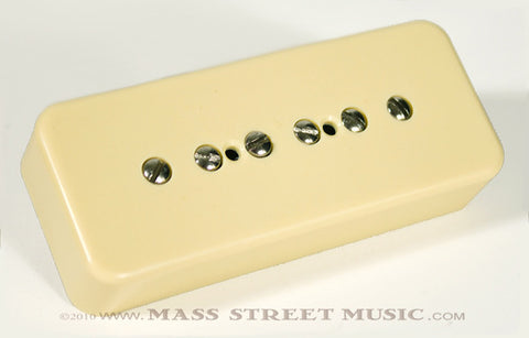 Fralin P90 Soapbar Cream Pickup - front