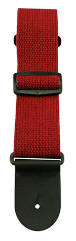 Henry Heller Straps - Red Cotton Strap