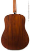 Taylor 510e acoustic guitar - back close up