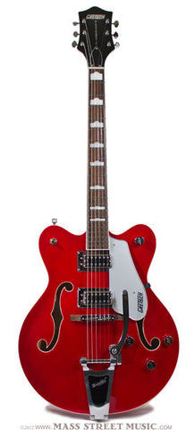 Gretsch Electric Guitars - G5422TDC Electromatic - Trans Red