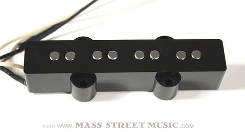 Lindy Fralin Bass Pickups - Split-Jazz Bass Bridge