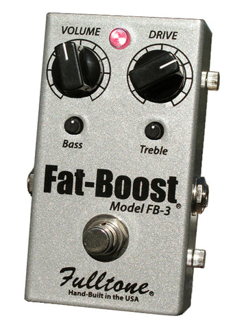 Fulltone Effect Pedals - Fat Boost 3