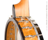 Ome Juniper 12 inch open back banjo -  heel and banjo nail detail